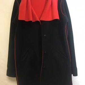 Susan Graver Jackets & Coats - Susan Graver Womens Button Front Fall Coat Small